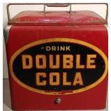Rare Double Cola Picnic Cooler
