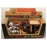 Roy Rogers Stagecoach Toy in Box