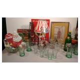 Many Coke Collectables