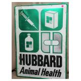 Hubbard Animal Health Sign