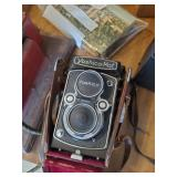Yashica-mat Film Camera & Kodak Film Projector