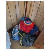 Sleeping Bags, Rug, Blankets, & Misc.