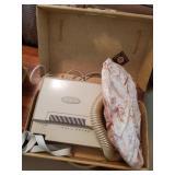 Vintage Westinghouse Hair Dryer & Nail Dryer In