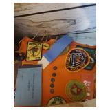 Boy Scout Vest & Badges