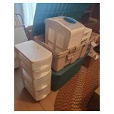 Totes & Rolling Cart