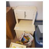 Kids Baking Cabinet & Bench