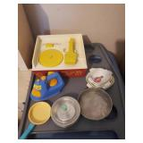 Baking Toys, Toy Record Player, & Misc. Toys