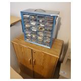 Pick-a-nut Container, Cabinet, & Contents