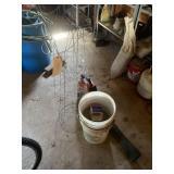 Plant Stands, Buckets, Husqvarna Blower
