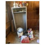Metal Cabinet, Repellant, Gas Can, Misc