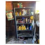 Contents Of Metal Shelf Excluding Shelf