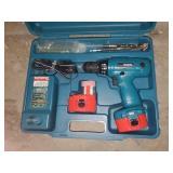 Makita Cordless Drill, Batteries, & Charger -