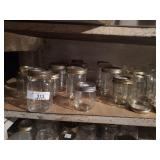 Shelf Of Mason Jars