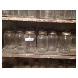 Shelf Of Canning Jars
