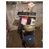 Pots, Watering Cans, Roasting Pot, Baskets, &