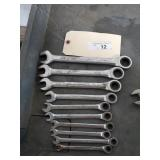 Standard 12 Point Ratchet Wrenches