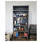 Metal Shelf Excluding Contents