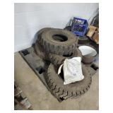 5 Fork Lift Tires