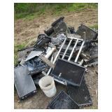 Aluminum Scrap Pile