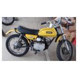 1972 JT2MX Yamaha Mini Enduro