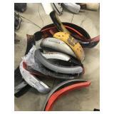 Lot of Motorcycle Fenders