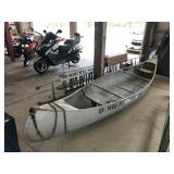 14 Ft Aluminum Canoe