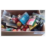 Box of Bobbers, Floaters & misc.