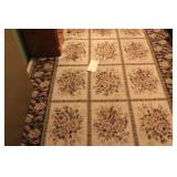 Braided Rug And Rug approx. 5ft x 7ft