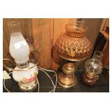Three Oil Lamp