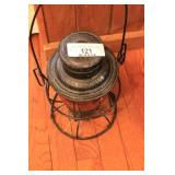 Pennsylvania Railroad Red Globe Lantern