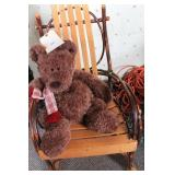 Rocking Chair w/ Teddy Bear