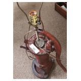 Hand Pump Lamp