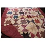 Starburst Patterned Quilt