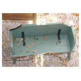 Storage Bin, Decorative Bench