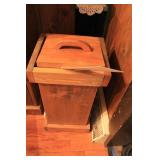 Small Wooden Potato Bin