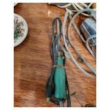 Vintage Curling Iron, 2 Hair Dryers & Hair Pins