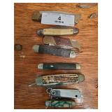8 Pocket Knives