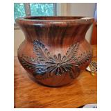 Wood Spoon Carved Planter