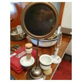 Vintage Shaving Mirrors & Brushes