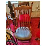 3 - Turned Leg Chairs