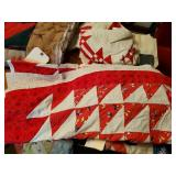3 Quilt Tops Approx Baby, Twin & Full