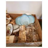 Box Of Misc. Dishes