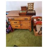 Antique Dry Sink Approx. 3