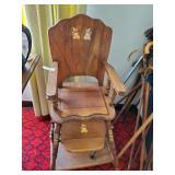 Antique High Chair & Potty Chair