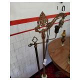 2 Antique Floor Lamps