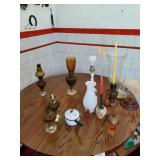 Oil Lamps & Misc