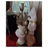3 Vintage Lamps