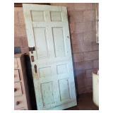 """Vintage Wooden Door, Approx. 30""""x75"""""""