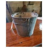 Galvanized Milk Bucket