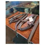 Sets Of Wooden & Metal Harness Hames